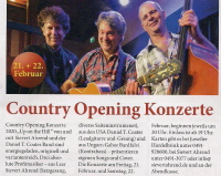 Country Opening Konzerte